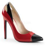 Punaiset Lakatut 13 cm SEXY-22 klassiset avokkaat kengät naisten