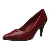 Punaiset Lakatut 7,5 cm PUMP-420 klassiset avokkaat kengät naisten