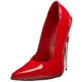 Punaiset Lakka 15 cm SCREAM-01 Fetish Avokkaat Kengät