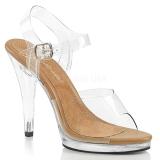 Ruskea 11,5 cm FLAIR-408 Naisten Sandaletit Korkea