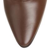 Ruskea 7 cm VICTORIAN-120 Naisten Nauhalliset Nilkkurit
