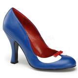 Sininen 10,5 cm SMITTEN-05 naisten kengät korkeat korko