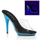Sininen Neon 13 cm POISE-501UV Platform Puukengät