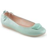 Sininen OLIVE-08 ballerinat matalat kengät
