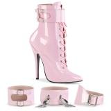 Vaaleanpunainen 15 cm DOMINA-1023 Naiset Nilkkurit varten Miehet