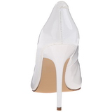 Valkoinen Lakatut 10 cm CLASSIQUE-20 Avokkaat Kengät Piikkikorko