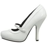 Valkoinen Lakatut 12 cm CUTIEPIE-02 Pumps Naisten Kengät