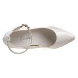 Valkoinen Lakatut 13 cm SEDUCE-431 Avokkaat stilettos miehille