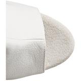 Valkoinen Lakka 18 cm Pleaser ADORE-1018 Platform Nilkkasaappaat