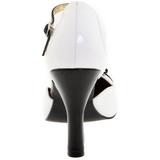 Valkoinen Mokkanahka 10 cm SMITTEN-10 Pumps Naisten Kengät