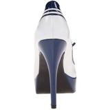 Valkoiset Sininen 13 cm LOLITA-13 Naisten juhlakengät