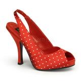 Valkoista Pistettä 11,5 cm CUTIEPIE-03 Punainen Avokkaat Kengät