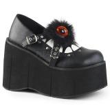 Vegan 11,5 cm Demonia KERA-11 lolita kengät platform