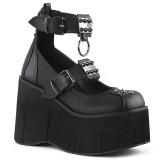 Vegan 11,5 cm Demonia KERA-12 lolita kengät platform