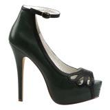 Vihreä Keinonahka 13,5 cm BELLA-31 naisten avokärkiset avokkaat kengät