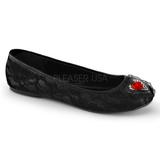 pitsi kangas STAR-25 gootti ballerina kengät matalat
